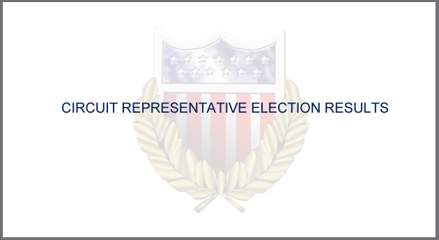 Circuit Rep Election Results